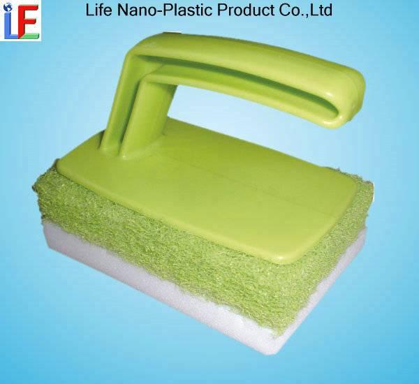 Compressed Magic Sponge With Handle