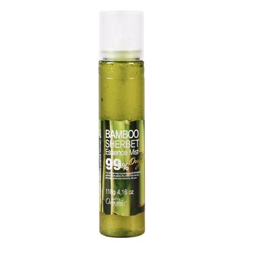 White Organia Bamboo Sherbet Essence Mist 99%