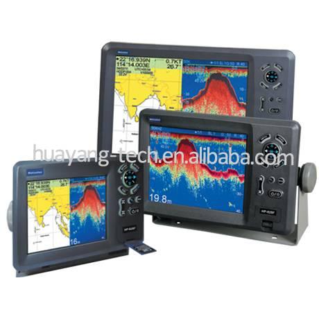 marine chartplotter GPS fishfinder combo