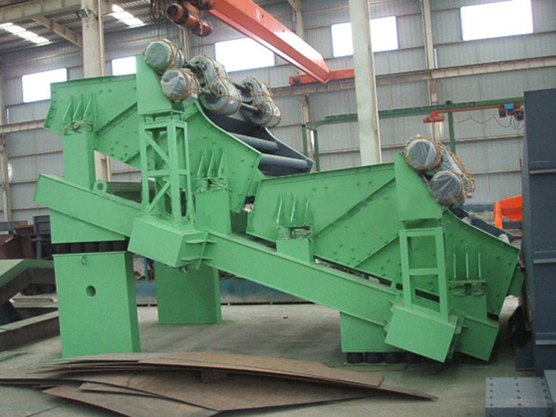 Arthropod cold mine sieve for ore and quarry industry