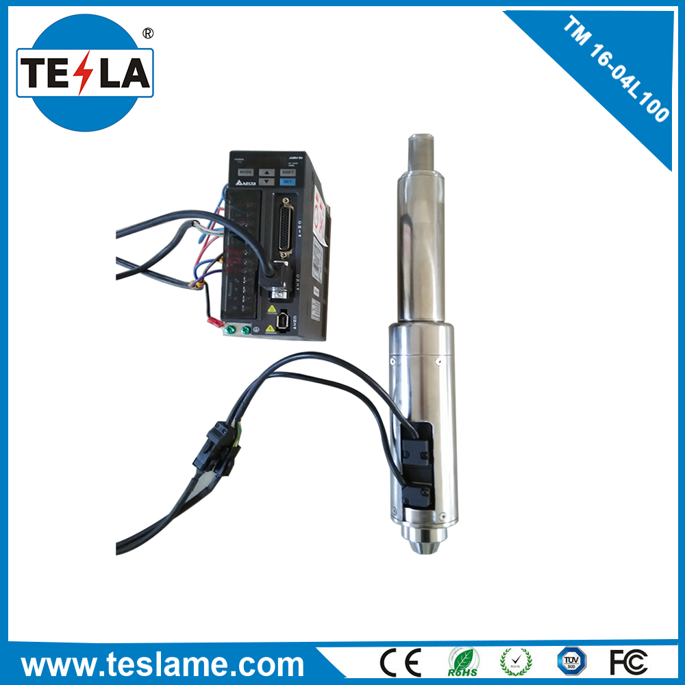 6 kinematic platform & axis linear actuator Max.100mm/s 100N servo motor price + controller TMPF2-6D