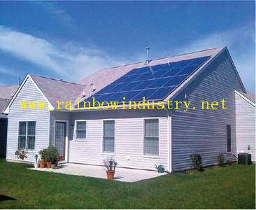 gid off Home solar power system 5kw