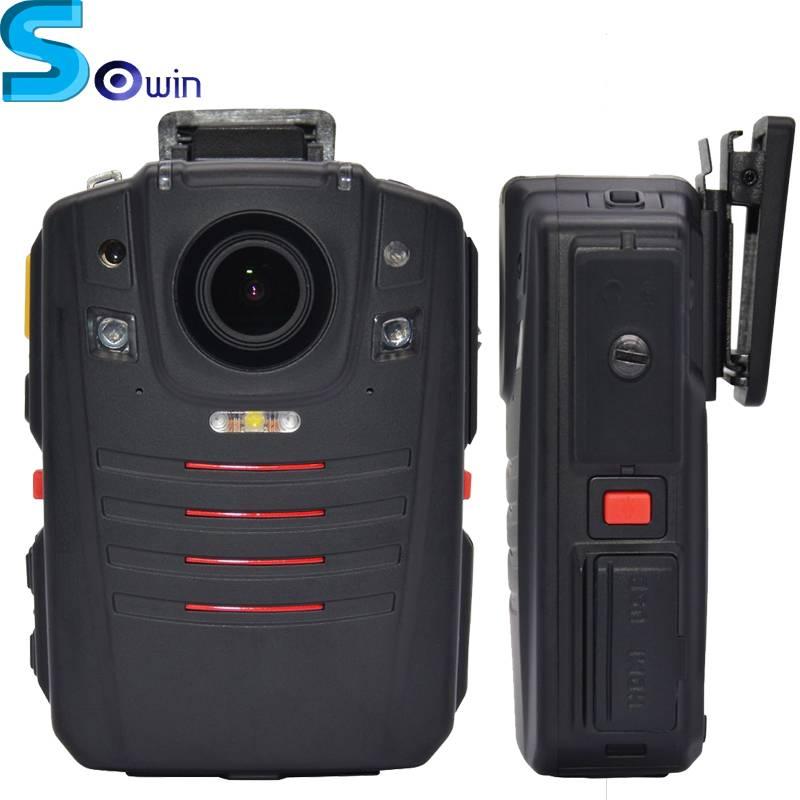 15h Continuous Recording 24h Standby time WIFI GPS body camera police ambarella