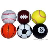Novelty Sports golf ball