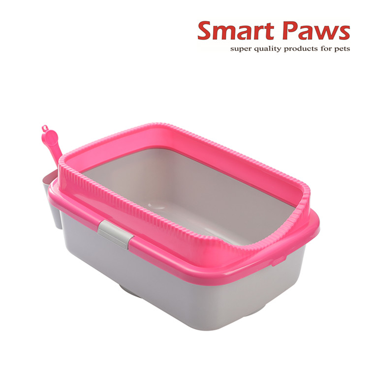 Smartpaws Large cat litter box cat toilet with scoop and holder