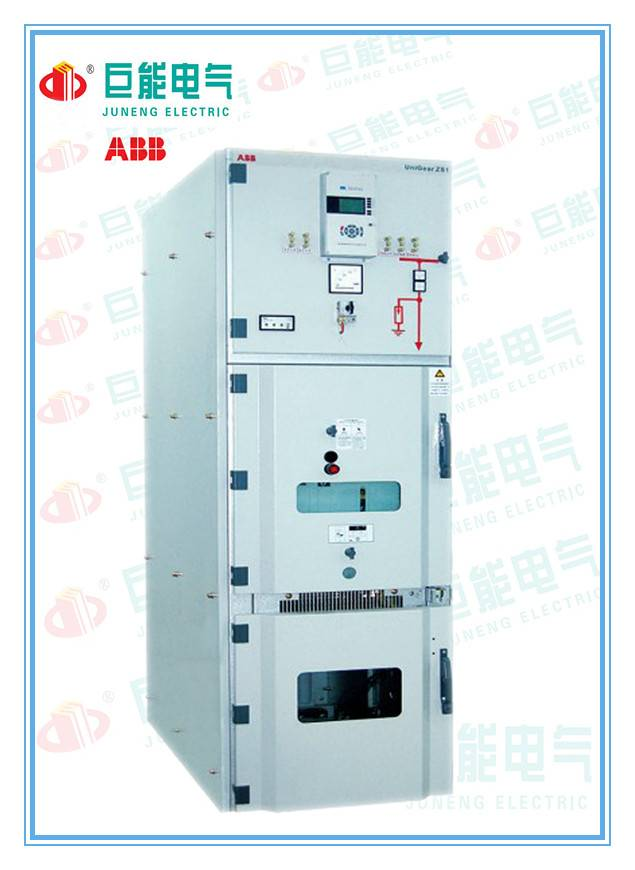 ABB Air-Insulate Medium Voltage Switch Cabinet Type UniGear ZS1