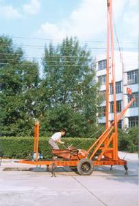 Trailer Engineering and water-well drilling rig YF-BZ-CYT200A