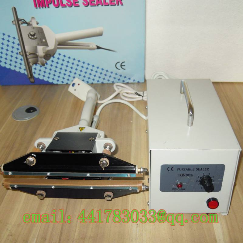 FKR-200A Plier small instantaneous thermal sealing machine PE film sealing machine sealing machine w