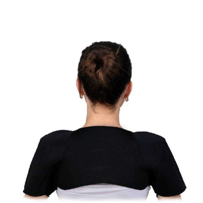 Shoulder support wrap heating magnetic therapy