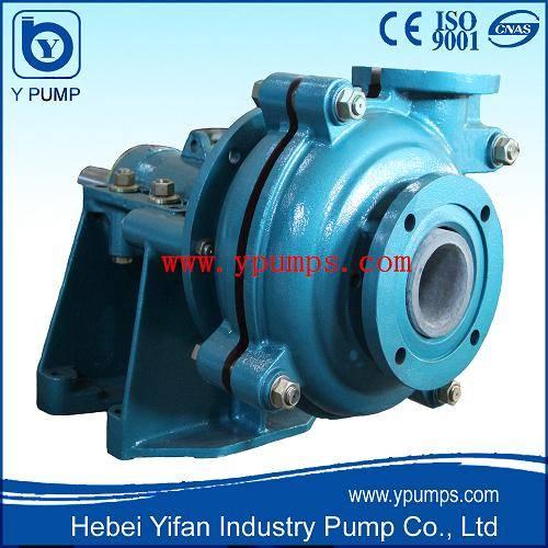 Heavy Duty Slurry Pump with Ceramic Wet Parts/Ceramic Slurry Pump