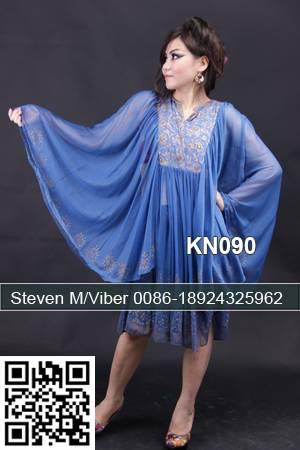 Bat Sleeves Short Muslim Sport Kaftan Beach Dress