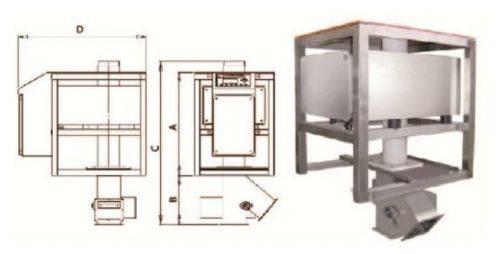 AMVT Free Fall Metal detector