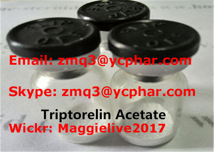 Triptorelin Acetate High Purity 57773-63-4 Triptorelin Acetate Powder for Weight Loss 2mg/Vial