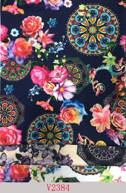 Healthy Printed Fabric for Lady's Garment
