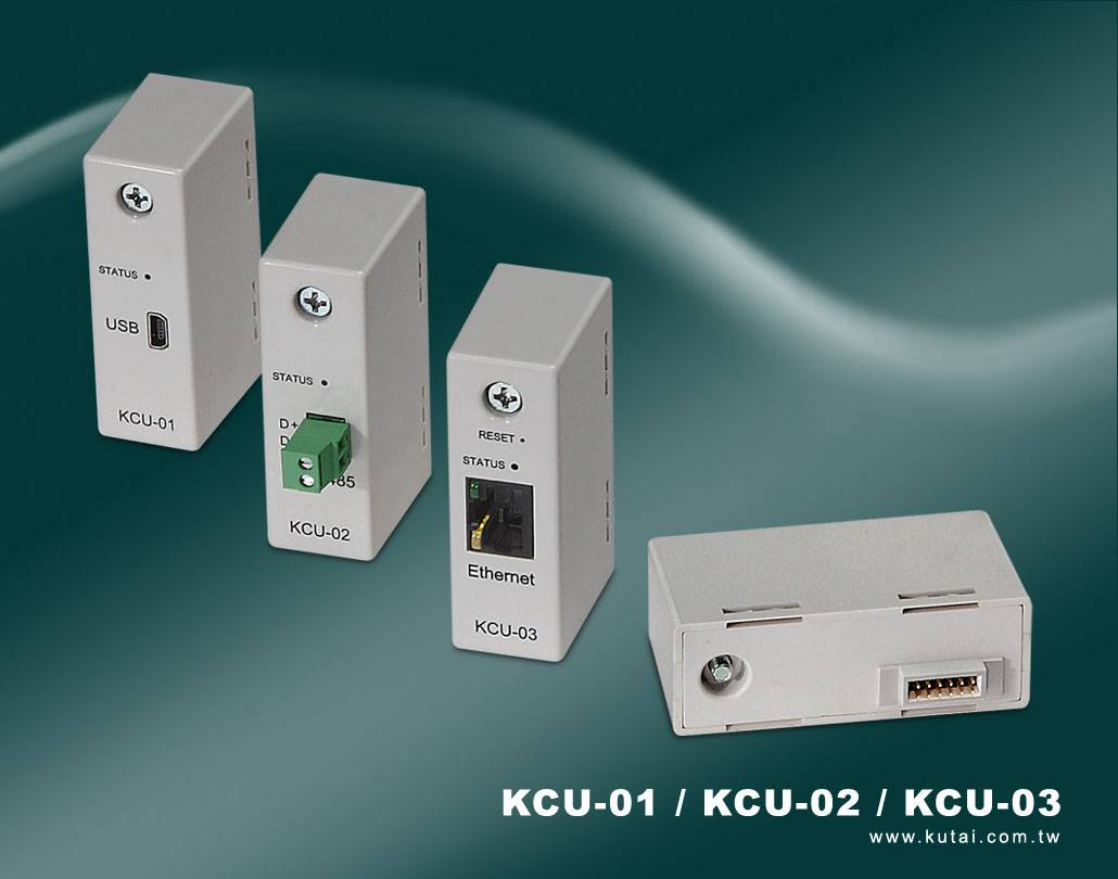 KCU-01/KCU-02/KCU-03  USB/RS-485/Ethernet Communication Modules