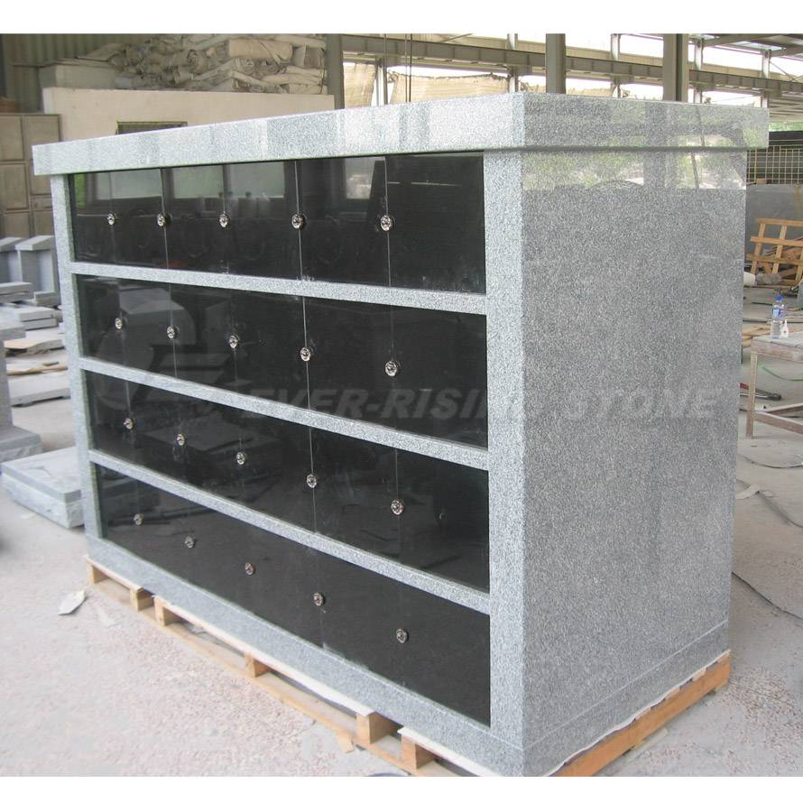 China Granite Columbaria 48 Niche Pre-Assembled Columbarium