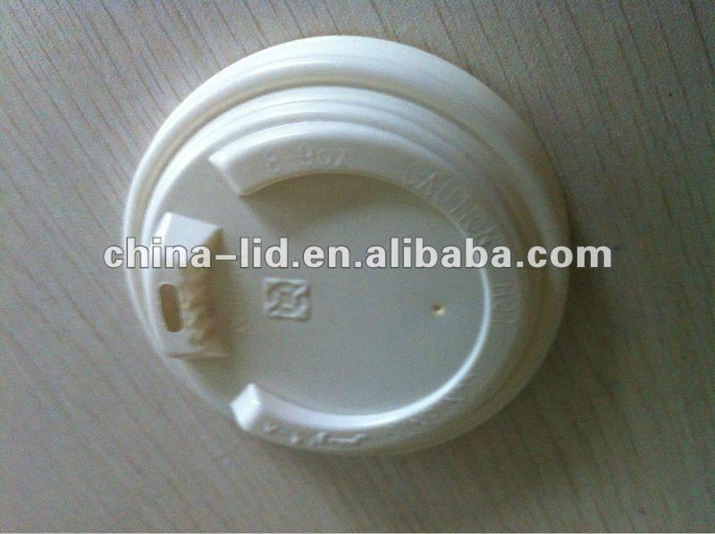 Plastic cup cap