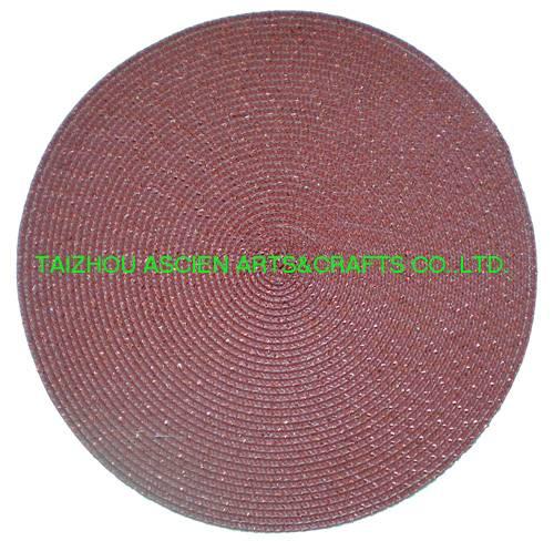 Hot mats Xmas placemats tableware dinnerware YS-PP2078R