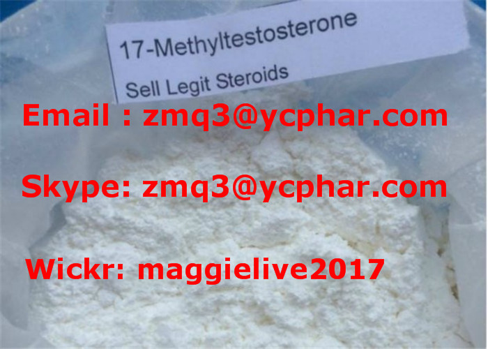 Musclebuilding Steroids 17-Methyltestosterone with 99% High Quality