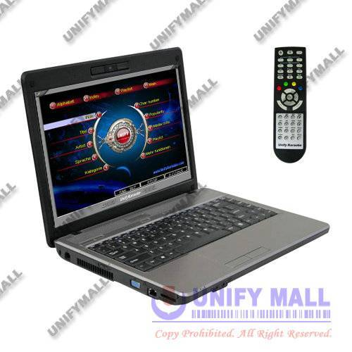 UNIFY DJKP1000A 320-2000GB HDD MP4/DVD/CDG Karaoke DJ Player