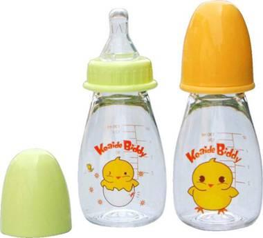 Radial nursing bottle