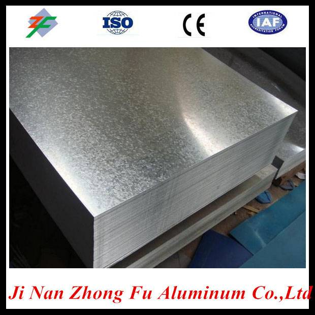 Shan dong factory 0.3mm thickness orange peel pattern aluminum plate