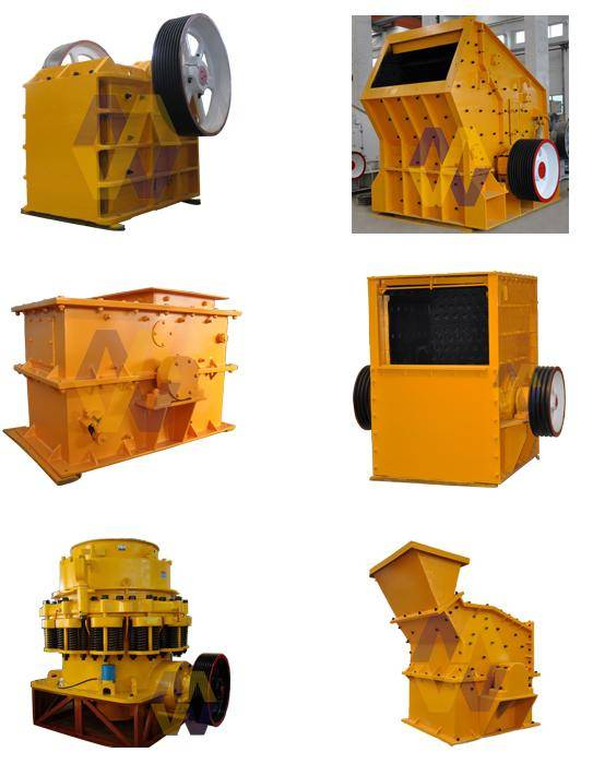 Primary Crusher/Impactor Crusher/Quarry Crushers