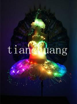 LED Luminous Ballet Dress