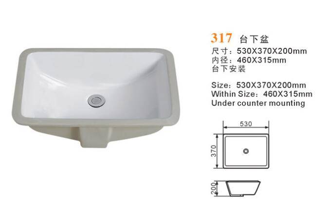 under basin 317