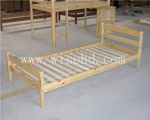 (WJZ-B19) wooden single bed frame