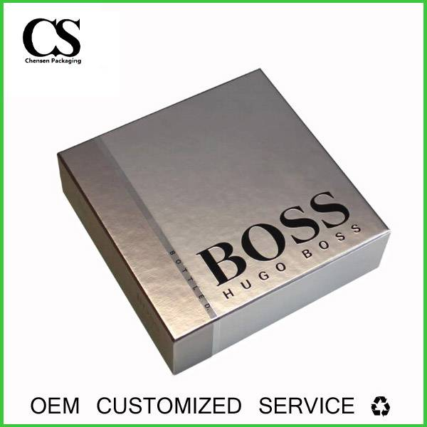 High Quality Company Logo Printed Custom Display Paper Packing Box
