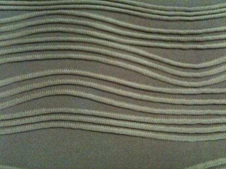 Polyester/spandex jacquard fibrics