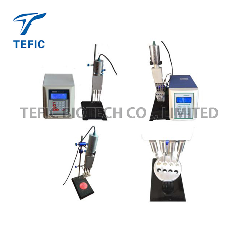 50~1000ml Cell Lysis Ultrasonic Cell Disruptor With LCD Display screen
