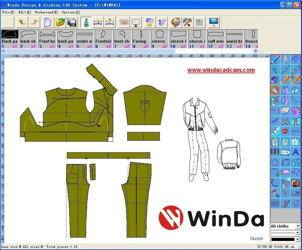 Winda Garment Cad Winda Technology Limited