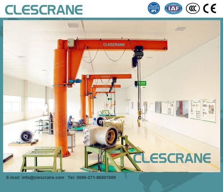 CJZ Series 0.5-10ton Professional Pillar Mounted Jib Crane Design, Jib Crane Price $100-$8000