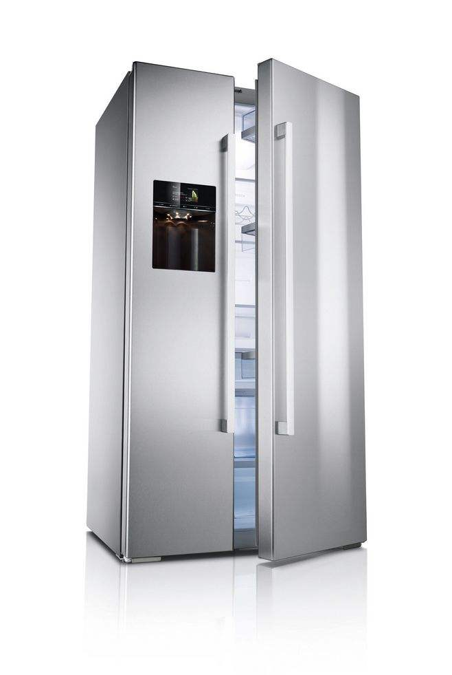 Frost free side by side refrigerator