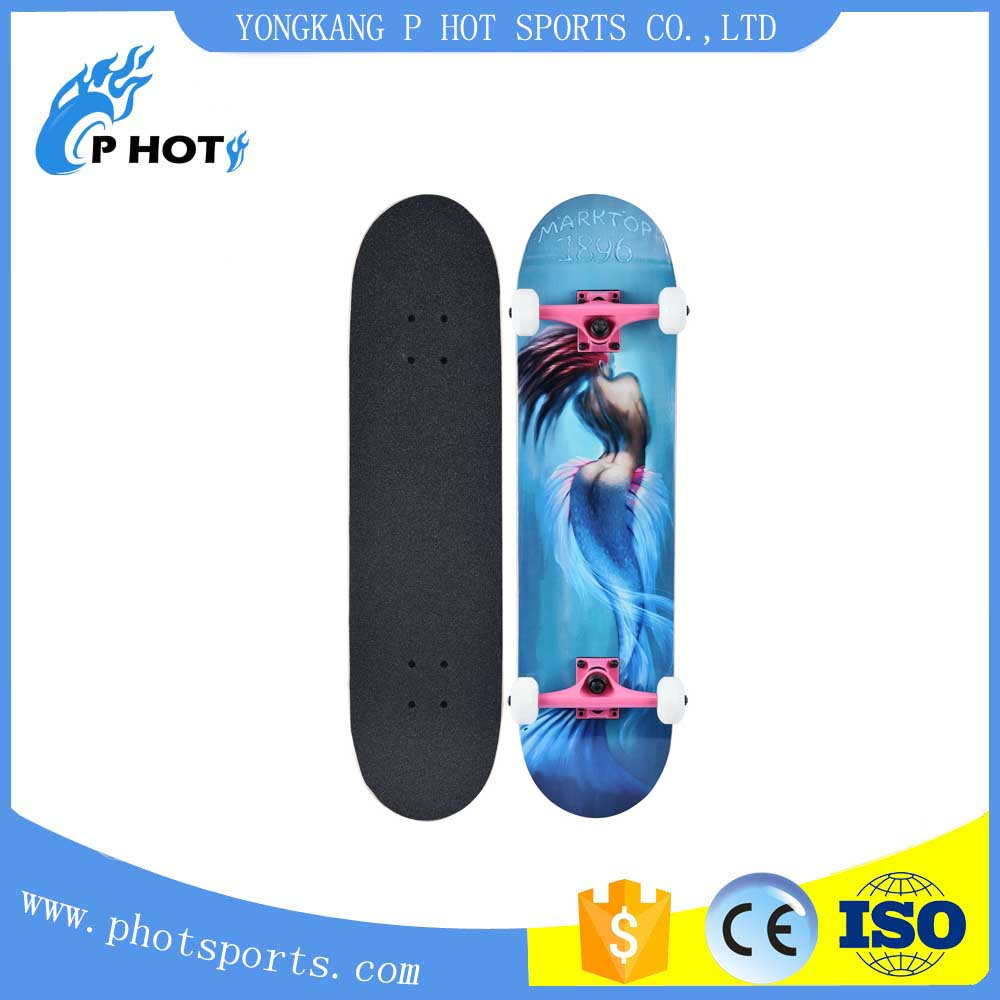 all canadian maple concave classic popular skateboard made in China
