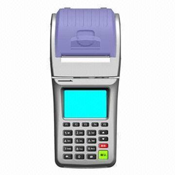 Handheld GPRS POS system