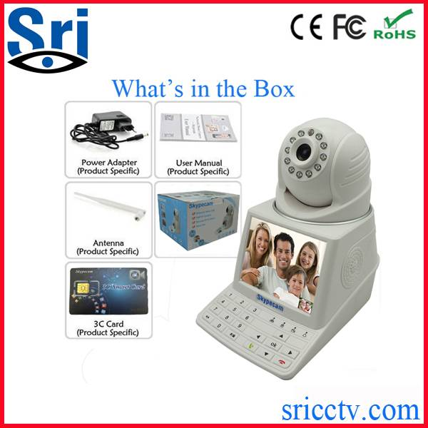 Security Cameras skypecam Free Vedio call P2P Network IP Camera