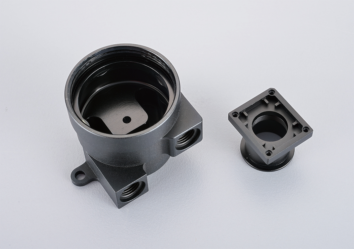 CNC turning components made by aluminum