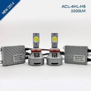 4HL 3200LM H8W LED Light Bulb DC12-24V with CE,RoHS