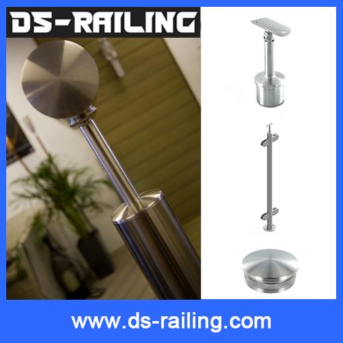 Cheap Price Inox Baluster Bracket, 316 Steel Handrail Support