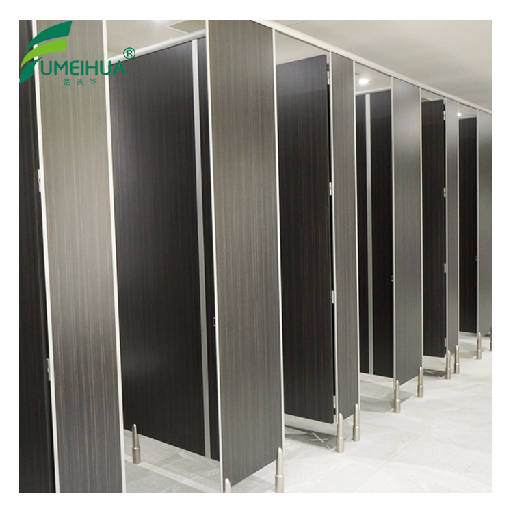 Factory direct sell waterproof compact laminate toilet partition