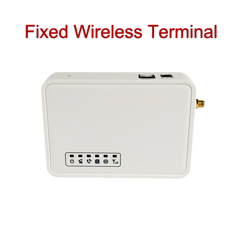 TD-LTE 4G Fixed Wireless Terminal SIM Card Desk Phone Dialer Support alarm system PABX Elevator