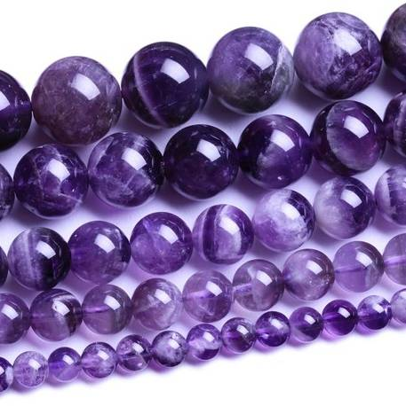 Natural Amethyst Loose Beads