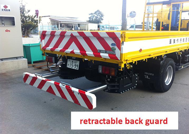 retractable back guard
