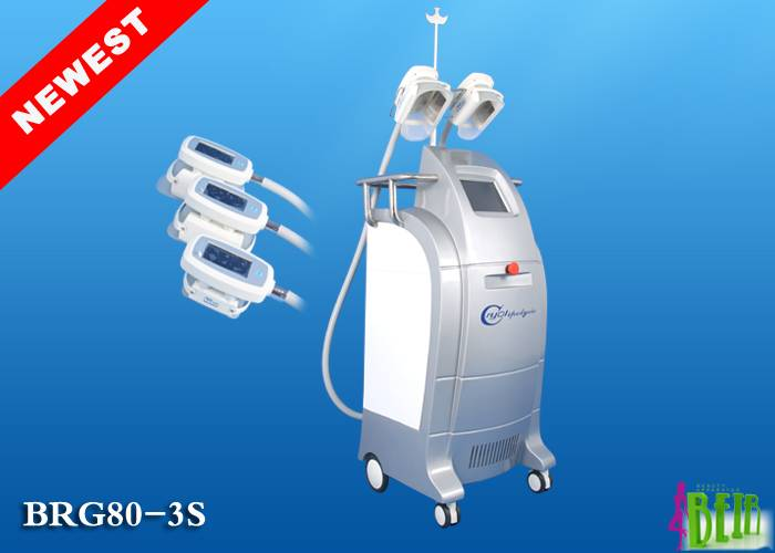 Cryolipolysis slimming machine with three cryo handles BRG80 3S