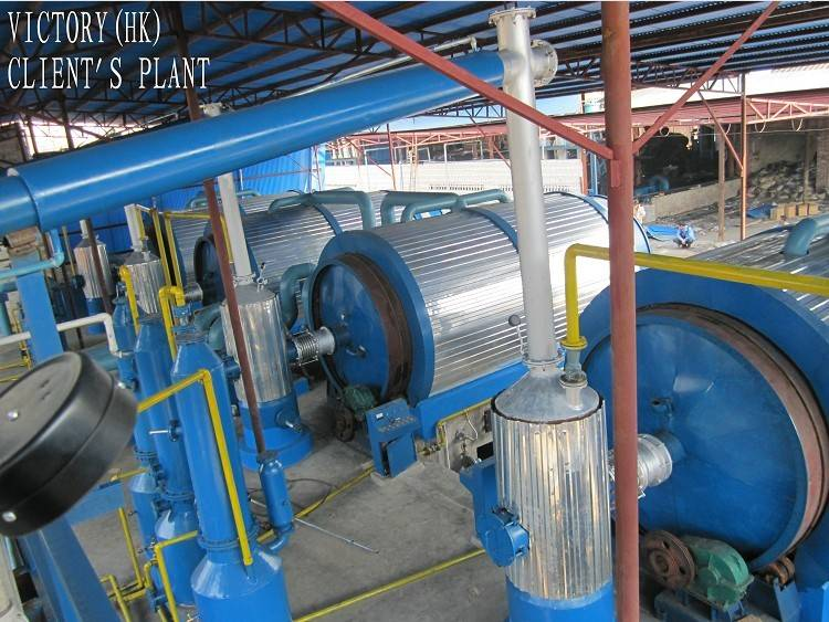 oil extracting machine using waste tyre