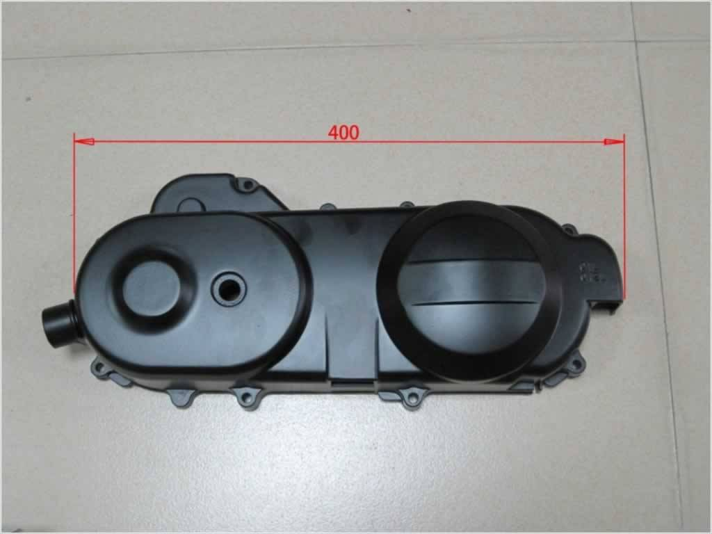 Motorcycle Parts - Left Crankcase Cover, 400mm, for Gy6 50CC Four Stroke 139qmb Engine (ME032000-006