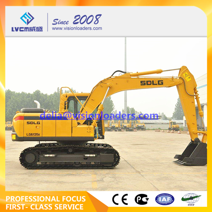 SDLG LG6135E Hydraulic Excavator E6135F Crawler for sale